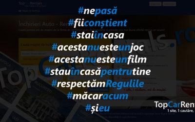În contextul COVID-19, piața de închirieri auto din Romania este impactată în proporție de aproximativ 95%.